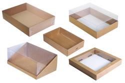 Коробки с прозрачной крышкой